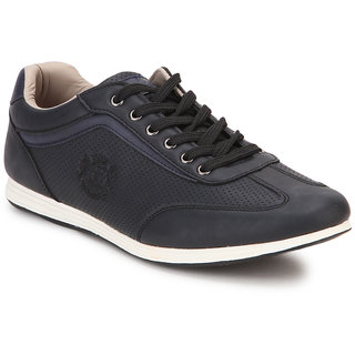 Spunk Men Black Casual Shoes