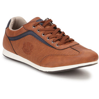 Spunk Men Tan Casual Shoes