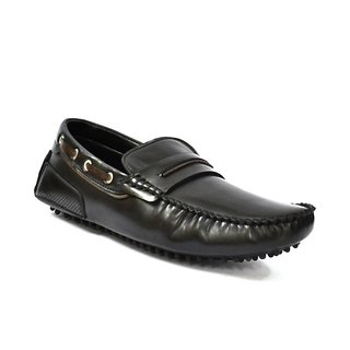 Zoot24 Men Black Loafers And Moccasins (F50GALANT-BLACK)