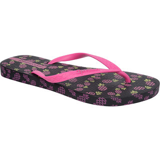 Ipanema-Women-Black - Pink-Flip Flop (25494-22883-US10-BLACK-PINK)