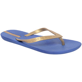 Ipanema-Women-Blue - Gold-Flip Flop (25325-21377-US10-BLUE-GOLD)