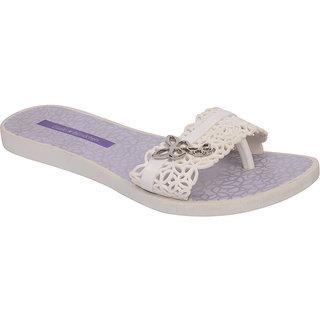 Ipanema-Women-White - Violet-Flip Flop (16086-21843-US10-WHITE-VIOLET)