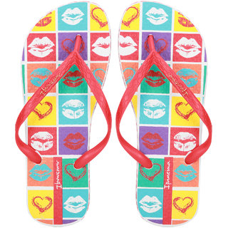 Ipanema-Women-White-Red-Blue-Flip Flop (25494-23419-US10-WHITE-RED-BLUE)