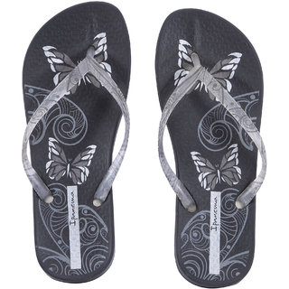 Ipanema-Women-Black-Clear-Silver-Flip Flop (80854-22968-US10-BLACK-CLEAR-SILVER)