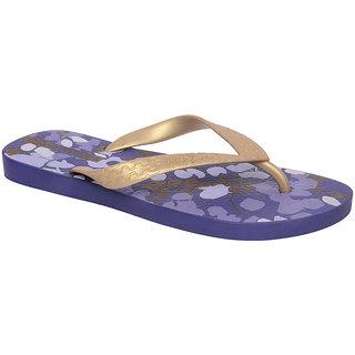 Ipanema-Women-Violet - Gold-Flip Flop (25279-22771-US10-VIOLET-GOLD)