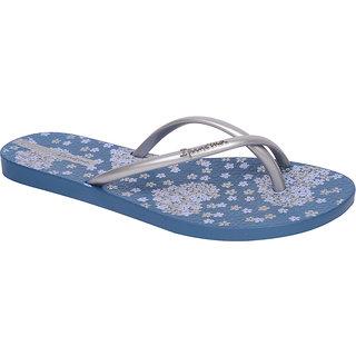 Ipanema-Women-Blue - Silver-Flip Flop (25734-23700-US10-BLUE-SILVER)