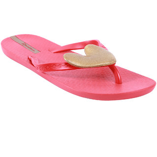 Ipanema-Women-Red/Red/Gold-Flip Flop (81165-23654-US10-RED-RED-GOLD)