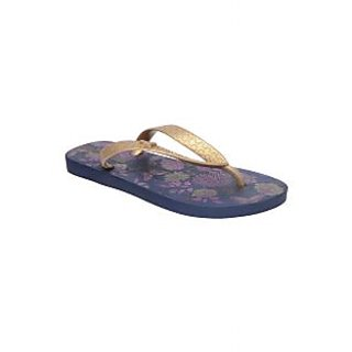 Ipanema-Women-Blue - Gold-Flip Flop (25473-22020-US10-BLUE-GOLD)