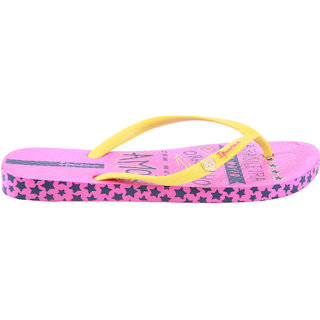 Ipanema-Women-Pink/Yellow-Flip Flop (25756-20216-US10-PINK-YELLOW)