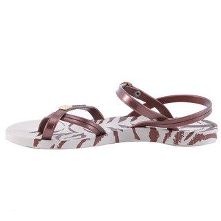 Ipanema-Women-Beige/Bronze-Flip Flop (81309-21539-US10-BEIGE-BRONZE)
