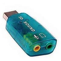 USB 2.0 Sound Card Audio 5.1 Channel, USB SOund Card , USB Sound Adapter