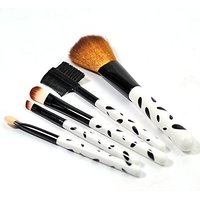 Mks Make Up Brush Set(Pack Of 5)pink Color