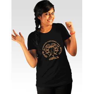 Incynk Women's Bad Girls Club Tee  (Black)