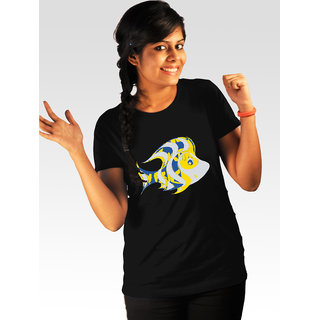 Incynk Women's Fishiness Tee (Black)