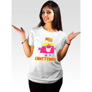 Incynk Women's Miss Chatterbox Tee (White)