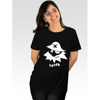 Incynk Women's Pirate Lover Tee (Black)