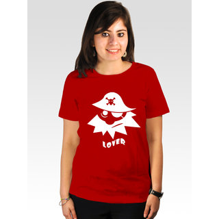 Incynk Women's Pirate Lover Tee (Red)