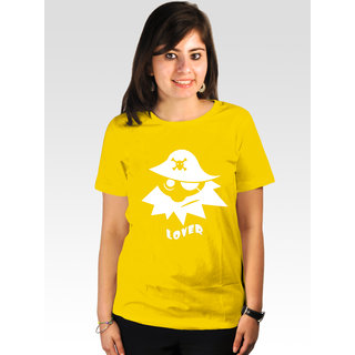 Incynk Women's Pirate Lover Tee (Yellow)