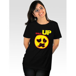 Incynk Women's Shut Up Tee (Black)
