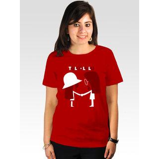 Incynk Women's Tulu-Lulu Tee (Red)