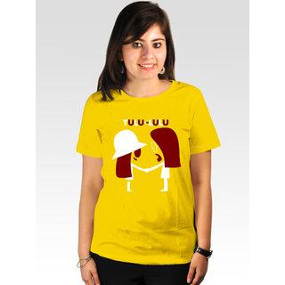 Incynk Women's Tulu-Lulu Tee (Yellow)