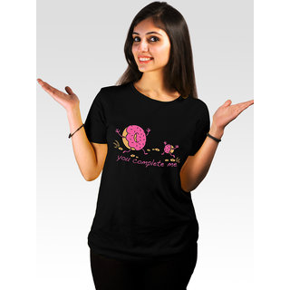 Incynk Women's Pies For Life Tee (Black)