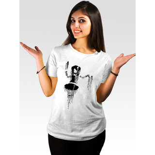 Incynk Women's Punked Tee  (White)