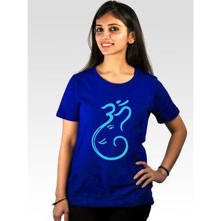 Incynk Women's Om Tee (Blue)