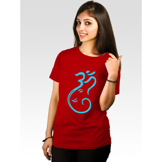 Incynk Women's Om Tee (Red)
