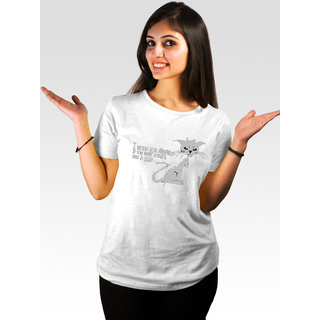 Incynk Women's Money Honey Tee (White)