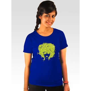 Incynk Women's Stormed Tee (Blue)