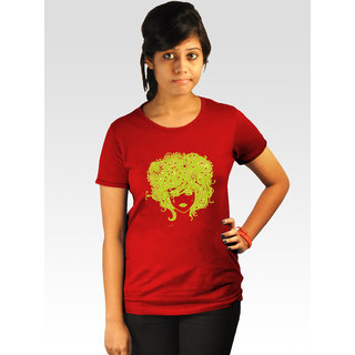 Incynk Women's Stormed Tee (Red)