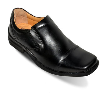 Red Chief Men Black Formal Shoes - 90062498