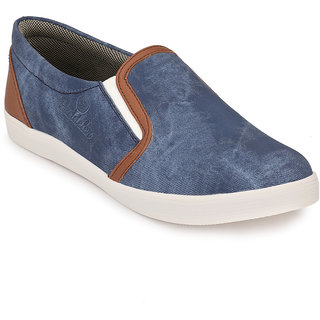 Peddeler Mens Blue Casual Shoes