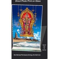 Velayuda Print on Glass Sized 8x6