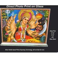 Kali Print on Glass Sized8x6