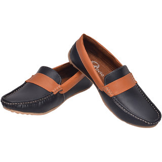 Alivio Dual Colour Loafers