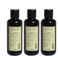 Khadi Trifala Hair Oil, 630ml -PACK OF 3