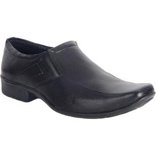 Amit Fashion Black Color Slip On Formal Shoes - 90129242