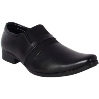 Amit Fashion Black Color Slip On Formal Shoes