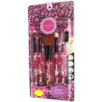 Make Up Brush Set Of 5 Pcs From STEEL PARIS - Original ( As Seen In Image )
