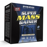 Dymatize Super Mass Gainer 12 Lbs Choclate Flavour With Free Shaker
