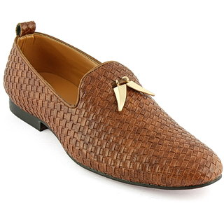 DeVEE Yanotti Mens Classic Chequered Casual Slip On Loafers
