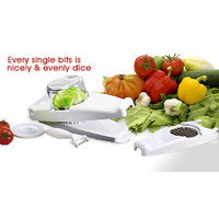 Genius Vegetable Nicer Dicer Plus With Containers