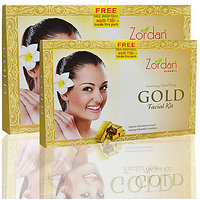 Zordan Gold Facial Kit With Free Facewash Worth 55