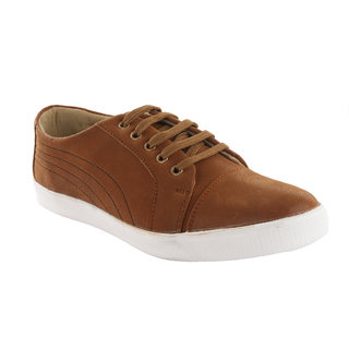 Zoxr MenS Dark Brown Casual Shoes (zoxrst-36)