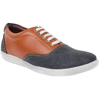Provogue Mens Blue Casual  Lace-up Shoes (PV1406BLUETAN)