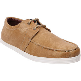 Provogue Mens Tan Casual  Lace-up Shoes (PV1412TAN)