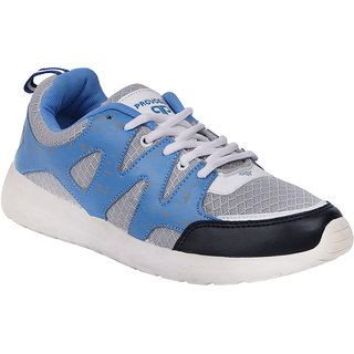 Provogue Mens Blue Casual  Lace-up Shoes (PV1402BLUEGREY)