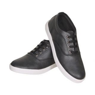 Sukun Black Casual Shoe For Men